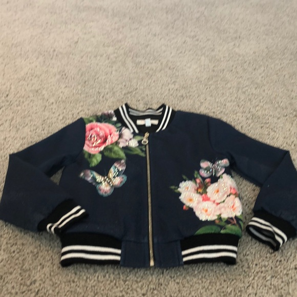 Truly Me Other - Satin Embroidered Jacket